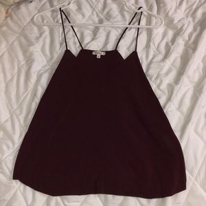 Maroon Top from Brandy Melville